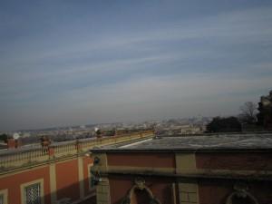 Utsikten från Gianicolo