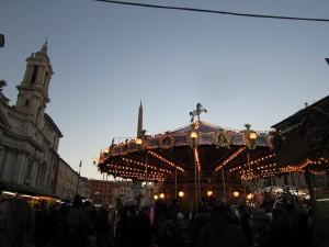 Befanafirande på Piazza Navona
