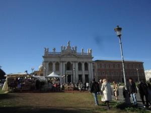 S. Giovanni in Laterano (med marknad)