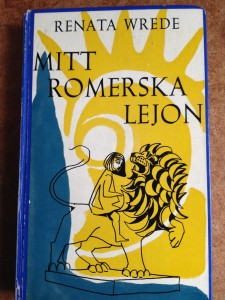 Ett lejon och svenska institutet. Omslag av Wrede själv.