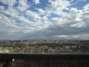 Utsikt från Villa Lantes loggia