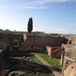 Augustus hus. Utsikt mot Aventinen.