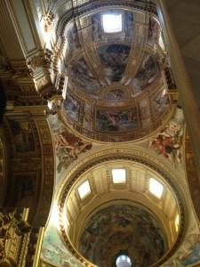 Taket i S. Andrea della Valle