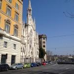 Ful bild på den omnämnda kyrkan