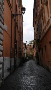 Gränd i Trastevere