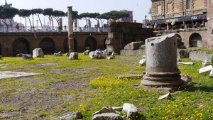Vår i Rom (här på Trajanus forum).