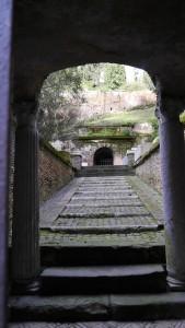 Ingången till Scipionernas grav.