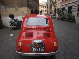 Fiat 500 - ett exempel på Romromantik